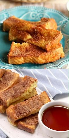 These Air Fryer French Toast Sticks are so quick and easy to make. Make them ahead, freeze, and just reheat to make busy mornings fuss-free!...