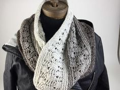 This beautiful knit cowl pattern has a relaxed rustic vibe you're sure to love.