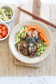 Soba Noodles with Chicken