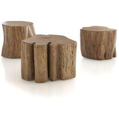 Crate & Barrel Teton Accent Table