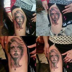 My new tattoo ❤ it's perfect ❤ i love it ❤ Artist, Ott Lee Tattoo Jyväskylä Otto Paananen