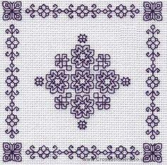 Snowflake - Holbein Embroideries Blackwork Kit