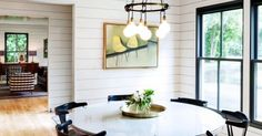 Inside a Family Home with a Modern Industrial Feel via @domainehome // The Portland home of Schoolhouse Electric & Supply Co. owner and family.