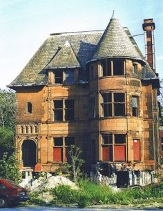 Abandoned Houses in Detroit