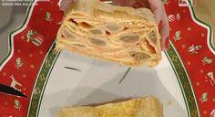 Ricette Anna Moroni: bauletto di agnolotti con besciamella rossa