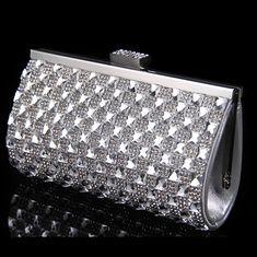 77b79590e Cheap Cristal mujeres embrague noche bolsas de acrílico vintage novia de la boda  bolsos gold silver