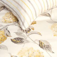 Hydrangea Camomile Cotton Duvet Cover