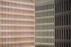 david chipperfield / ciudad de la justicia, barcelona. In-situ concrete