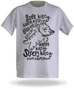 Soft kitty warm kitty - Bing Images  The Big Bang Theory song