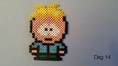 Butters (South Park) hama beads by Sylvana