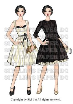 AFL Vanessa Raven ~ extra 2 fashions by siyilin.deviantart.com on @deviantART