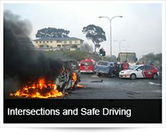 Arrive Alive South Africa | Intersections and Safe Driving