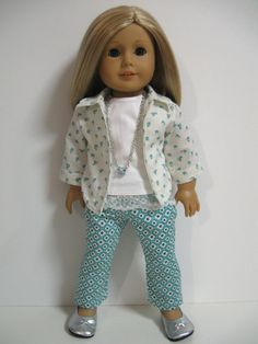 American Girl Doll ClothesLets Go by 123MULBERRYSTREET on Etsy, $32.00