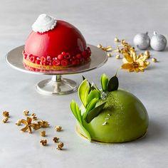 ハイアット リージェンシー 大阪のクリスマスケーキ、ベリーレッド&抹茶グリーンの「ムースドーム」 | ファッションプレス