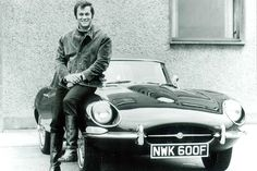 "Tony Curtis and Jaguar E-type - Stars and cars ""University Driving School"" Jaguar E Type, Jaguar Cars, Jaguar Xk, Carros Jaguar, Dream Cars, Type E, Automobile, Jaguar Daimler, Celebrity Cars"