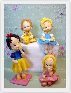 Princesas by Biscuit da Pati