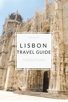 Traveling to Lisbon? Don't miss out on these must-sees! Cultural and local activities including day trips from Lisbon.