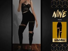 SlayClassy - Nine Pants Sims 5, Best Sims, Sims 4 Mods Clothes, Sims 4 Clothing, Sims 4 Game Mods, Sims 4 Gameplay, Sims 4 Cc Packs, Sims4 Clothes, The Sims 4 Download