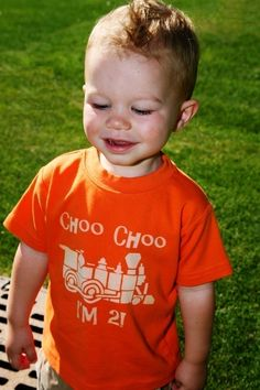 Second birthday tshirt for boy.