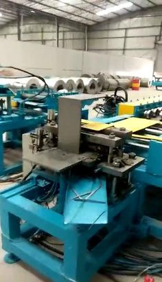 Electrical distribution board roll forming machine production line process