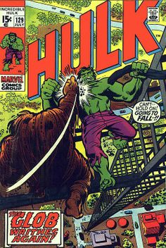Incredible Hulk # 129 by Herb Trimpe