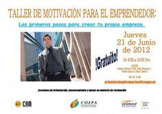 Taller de motivación para el emprendedor. COEPA. 21/06/2012