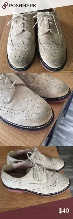 outlet store 46a48 4f36e Crewcuts Suede Oxfords