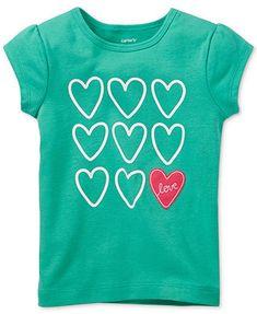 Carter's Baby Girls' Heart Tee