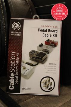 Kit de Cabos P/ Pedal Planet Waves PW-GPKIT-10
