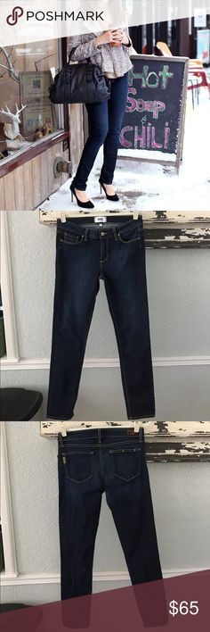 Paige Skyline Skinny Perfect preowned condition!! Love these !!! Anthropologie Jeans