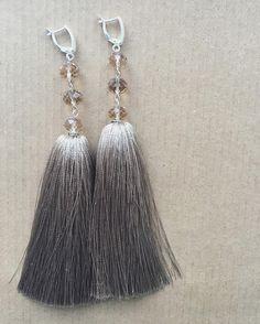Серьги-кисти #AlenaGri_accessories
