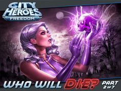 "Cover art for ""Who Will Die?"" Part This is the second chapter in CITY OF HEROES' inaugural Signature Story Arc. City Of Heroes, Story Arc, Dna, Concept Art, Joker, Fan Art, Deviantart, People, Fanart"