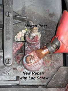 Tips on how to repair a melted electric golf cart battery post. Off Grid Batteries, Golf Cart Batteries, Ogio Golf Bags, Golf Cart Repair, Electric Golf Cart, Golf Cart Accessories, Golf Magazine, Battery Terminal, Golf Simulators