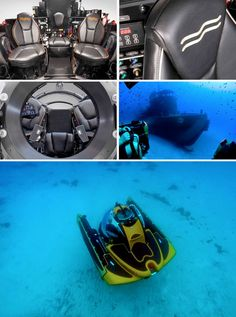 C-Explorer 3: your personal submarine for exploring the deep sea
