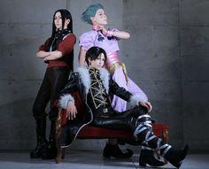Hunter x Hunter - Illumi,chrollo, and hisoka
