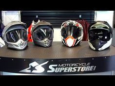 Adventure Touring Helmet Shootout | Motorcycle Superstore - YouTube