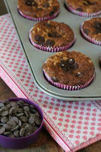 Qué muffins más completos y aptos para celíacos comparten desde el blog COOK THE CAKE.