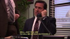 The 25 Best Michael Scott Quotes, dying!