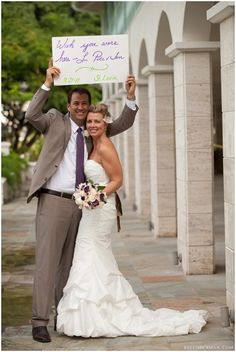 great idea for a destination wedding