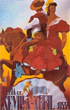 affiche feria 1955