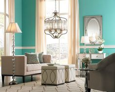 Stuff i want in my room on pinterest teen rooms girls for Tiffany blue living room ideas