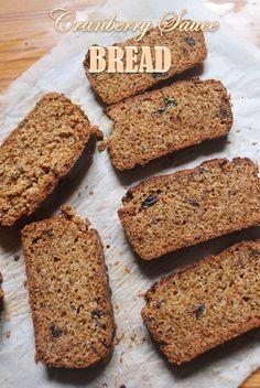 YUMMY TUMMY: Cranberry Sauce Bread Recipe