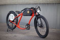 Otocycles Retro-E-Bike Chopper Motorrad