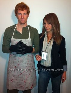 Best Homemade Dexter Couple Costume... This website is the Pinterest of costumes