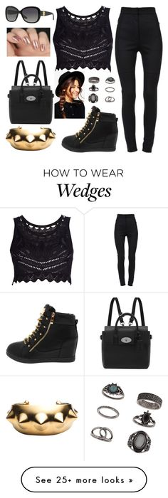 """""""Poppin' pills is all we know"""" by hayliemcullough on Polyvore featuring moda, Roberto Cavalli, Dolce&Gabbana, Topshop, Eddie Borgo, Mulberry, Versace, ASOS, women's clothing i women"""