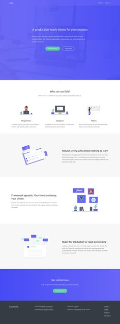 442 Best One Page Website Templates Images In 2019 One Page