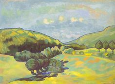 Rudolf Urech-Seon - Waldbach, 1923 Matisse, In This Moment, Painting, Art, Switzerland, Kunst, Art Background, Painting Art, Henri Matisse