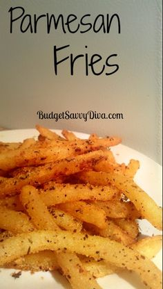 Parmesan Fries taken from Budgetsavvydiva.com