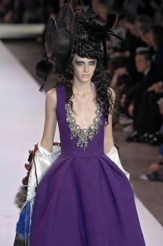 Christian Lacroix at Couture Fall 2007 - StyleBistro