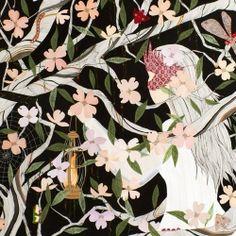 Love the magical work of Korean artist, Dan-ah Kim...